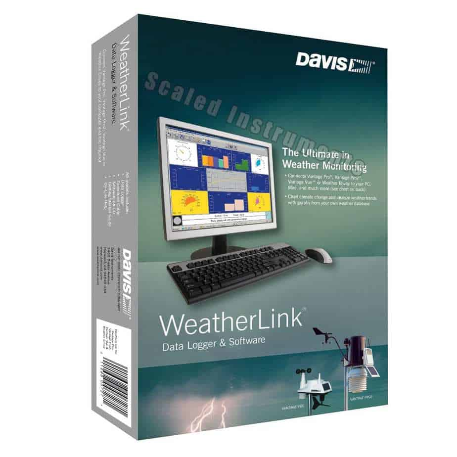 Product Data Logger Software : Davis weatherlink for aprs with streaming data